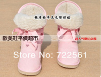 2013 new autumn and winter snow boots straps 3 hole boots boots women boots