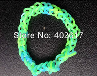wholesale 2013 New Handmade Rainbow Loom rubber band, silicone rubber band, Friendship Bracelet Fashion Bracelet free shpping