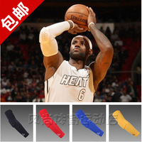 Mcdavid basketball honeycomb anti-collision lengthen armguards sports elbow arm sleeve breathable sweat absorbing flanchard
