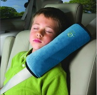 New arrival Baby seat belt cover  auto car safety belt shoulder pad child head pillow  Free shipping
