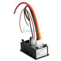 DC 0-100V Voltmeter Ammeter 10A Red LED Panel Amp Digital Volt Gauge YB27VA S7NF