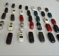 100pc Wholesale - 1:200 model plastic car for Landscape Train Model Scale architectural scenery