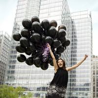 Large black balloon Thicken Festival Celebration Birthday Party Decoration Studio shooting Balloon Free shipping