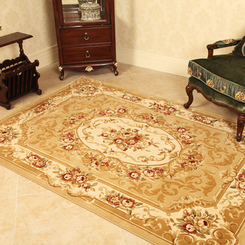 Ministering carpet bed rug fashion handmade carved living room carpet wool blending rich elegant