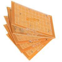 5PCS 9x15cm Prototype Paper Boards PCB Blank Printed Circuit Board DIY #gib