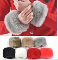 Free shipping 2013 the winter warm woolen hand wrist gloves
