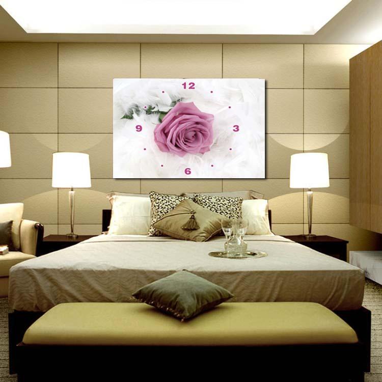 Paarse muur klok promotie winkel voor promoties paarse muur klok op - Moderne kamer volwassen schilderij ...