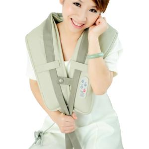 Shoulder neck massage device cape shoulder strap hammer back massage device