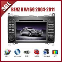Benz A W169 2004-2011 CAR GPS DVD Player HD Screen with GPS IPOD TV AM/FM Bluetooth
