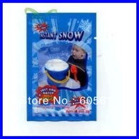 2014 New MAKE YOUR OWN SNOW 100pc/lot Christmas DIY Gift Creative Artificial Winter Instant Snow Powder snow Free Shipping