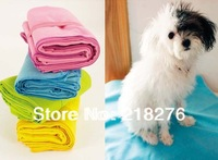 Dog Cat Puppy Absorbent Drying Clean Towel Pet Bath Towel Synthetic