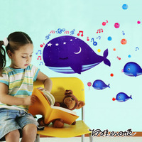 Eva waterproof three generations of eco-friendly baby child real cartoon wall stickers