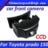 """night vision HD CCD 1/3""""  car front view camera FOR prado 150 front waterproof  Effective Pixels 728*582 CCD"""