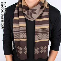 Meters 2013 christmas male scarf autumn and winter thermal yarn scarf