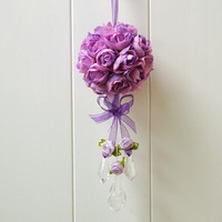 Wedding garland artificial flower ball hangings door trim exhaust pipe muons hangings wedding decoration bouquet
