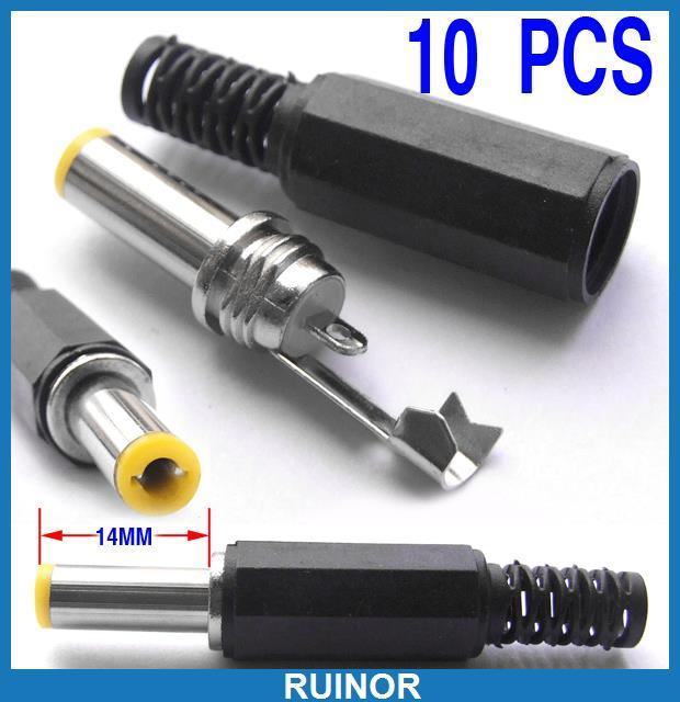 10pcs-14mm-5-5mm-2-5mm-DC-Power-Plug-Soc
