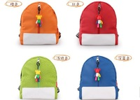 FREE SHIPPING ~ 20pcs/lot Cute baby nursery candy-colored shoulder bag, children school bag, cartoon bag, ~ Factory Wholesale