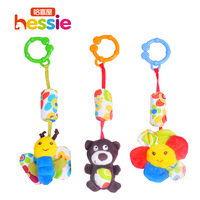 Child bed tube charm baby hanging bed hanging plush bell baby toy 0-1 year old