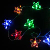 Led butterfly pendant led lights festival costumes garden lights christmas lights 10M