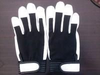 Gloves pigskin cotton velcro gloves leather gloves