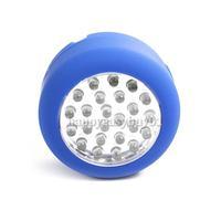 24 LED Blue Powerful Lamp Magnetic Camping Light Hook H1E1