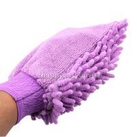 1x New Microfiber Car Washing Cleaning Glove Mitt N H1E1