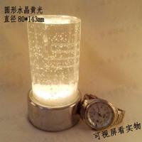 Led bar counter lamp charge crystal bar lamp bar candle lamp ktv deck table lamp