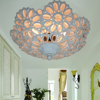 Fashion modern brief beaded ceiling light living room lights bedroom lamp study light ceiling light fitting