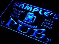 pg-tm Name Personalized Custom Neighborhood Pub Bar Beer Neon Sign Wholesale Dropshipping