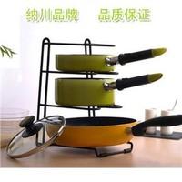 Multi-purpose pot cover rack shelf storage high quality cutting board pot rack 0.7