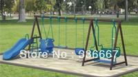 wholesale garden swing sets slide playground