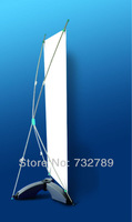 X banner stand with water injection base BST9-3 with banner printing