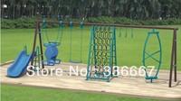 wholesale garden swing sets slide climbing playground