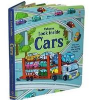 Usborne book look inside car cars child pop-up book