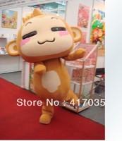 1Pcs Free Shipping to Youxihou UU monkey monkey cartoon dolls clothing hip hop clothing walking cartoon dolls doll props
