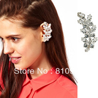 New Coming Vogue Imitation Diamond Clip Ear Hook Earring