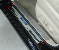 2013 Nissan TEANA With Blue LED light High quality stainless steel Scuff Plate/Door Sill