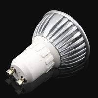 LED Lamps AC 220V 230V 240V LED Lights 3*1W GU10 High Power Spotlight LED Bulbs Downlight Lighting Cold White Free J1264