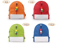 Cute Candy Color School Bags Mini Green PU Backpack Gift for Children Kids Free Shipping CSB-003