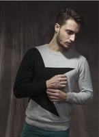 2014 New Arrival Men's Autumn and Winter Men's Jacquard  Star Pullovers Fashion 100% Cotton Designer Sweater Men