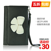 Multifunctional tamgle        for apple   cell phone pocket     famous brand wallet ladies purse women high