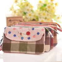 Classic plaid    case cell    pocket  wedding gift the girls   coin purse frame designer brand