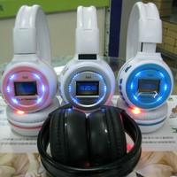 1PCS Free Shipping, Multi Function Headphone, SD Read FM Radio Sports Wireless Headset, Screen Mobile Computer Head phone