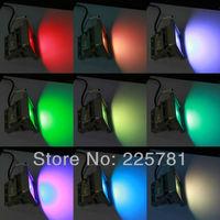 30W LED RGB Floodlight free shipping by FEDEX 6pcs/lot 16 color Change LED Landscape Lighting