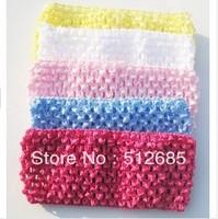 {Min.Order $15}30pcs/Lot 2013  Kids/Girl/Princess/Baby Knitting Pure Color Elastic Head Band/Hair Accessories
