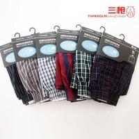 Free Shipping New 2013 100% Cotton  Shorts Underwear Mem's Boxer Shorts Underwear Men Boxers Male Underpants 5pieces/lot