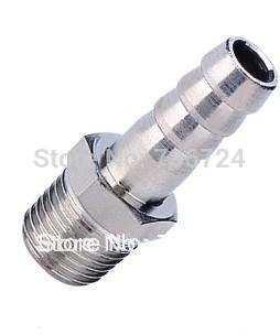 tube size 8mm-1/8 pt thread copper male Brass Barbed Fitting brass pipe fittings