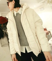 2013 autumn massifs bread cotton-padded jacket batwing short sleeve design down wadded jacket