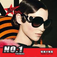 Spoondrifts butterfly wings baroque ruslana korshunova fashion round glasses sunglasses women's vintage sunglasses