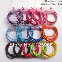 Free Shipping,2013 New Wholesale Candy Color Girls Cute Tiny Hair Accessaries Hair Bands Elastic Ropes Ties Ponytail Holder